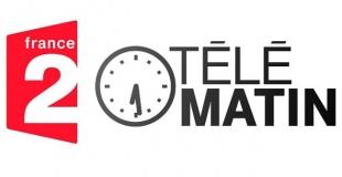 Télématin présente une opération de Greenpeace à la ferme de la Guilbardière