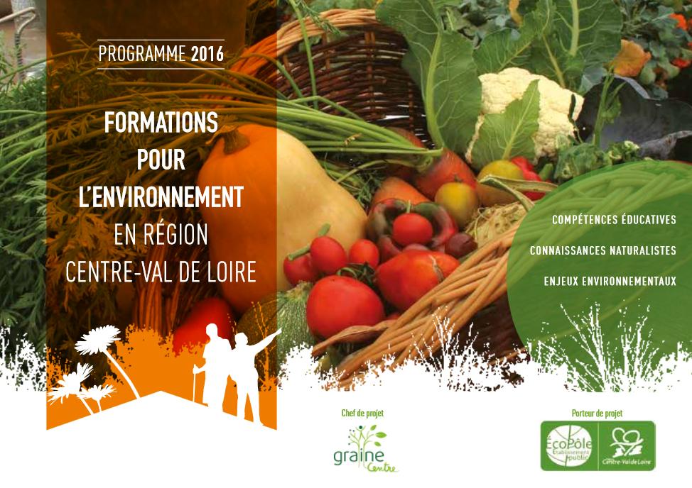 """formation """"Éduquer à l'alimentation"""" du 16 au 18 novembre 2016"""