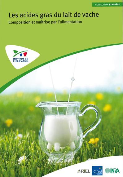 la composition en acides gras du lait de vache