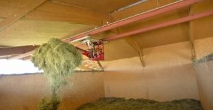 Un séchoir à herbe va remplacer l'ensilage dès ce printemps 2006