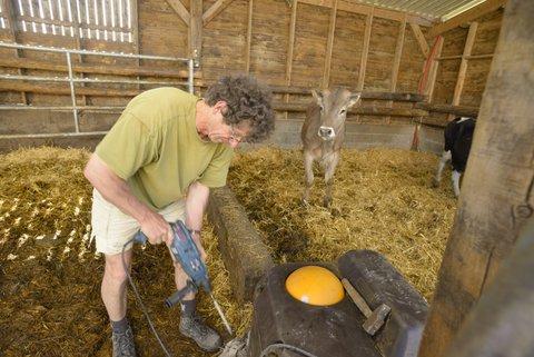 Réparation à la ferme