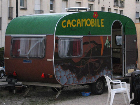Cacamobile, toilettes sèches multiples