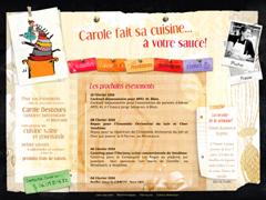 Carole fait sa cuisine... à votre sauce